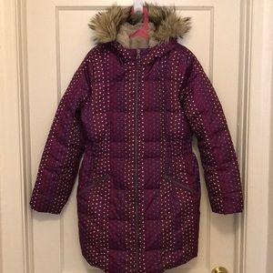 Girls Lands' End winter down coat